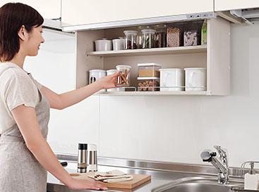 『クイックパレット』は調味料や普段よく使う道具が置けて便利♪