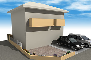 ブロック塀との色バランスも重要なポイントです。
