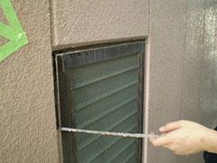 シーリングの切れは雨漏れの原因。 必ず補修が必要です。